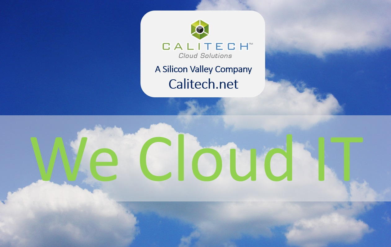 we cloud it - calitech managed services